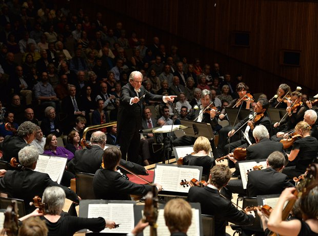 Neville Marriner Academy Martin Fields Royal Festival Hall conductor 90th birthday