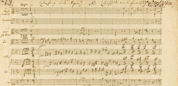 Mozart manuscript expected to auction for £500k