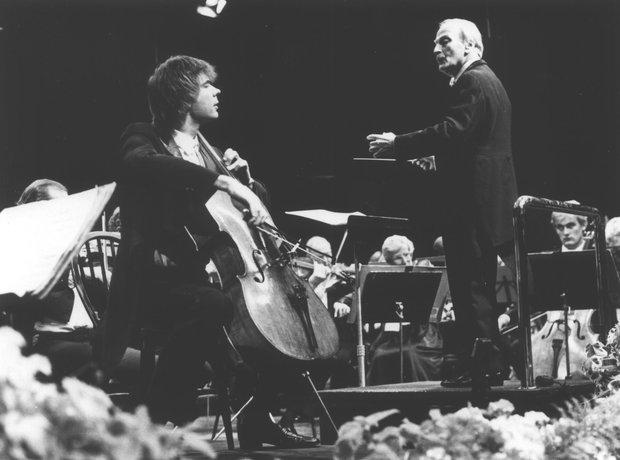 Julian Lloyd Webber cellist Yehudi Menuhin violinist conductor