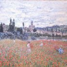Monet Field of Poppies Impressionism