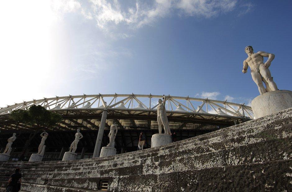 Rome city musical venues olympic stadium