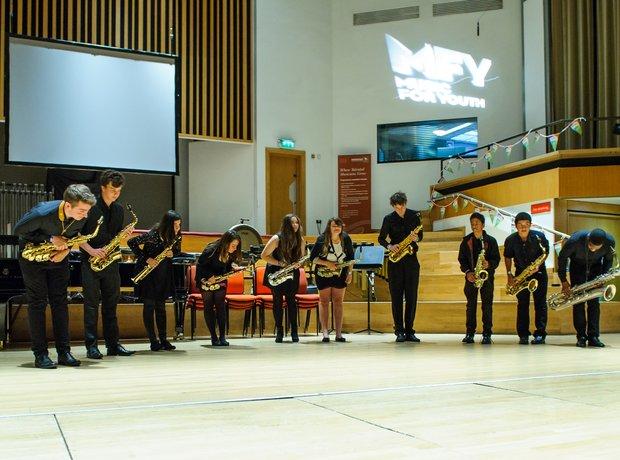 Centre for Young Musicians Saxophone Ensemble