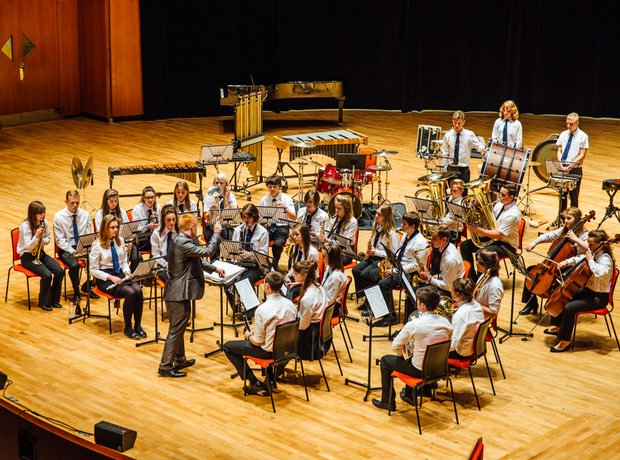 The High Arcal School Concert Band