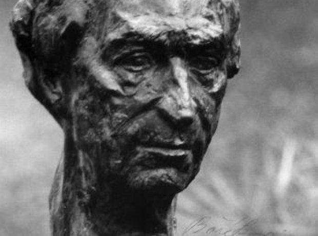 Rafael Kubelik sculpture