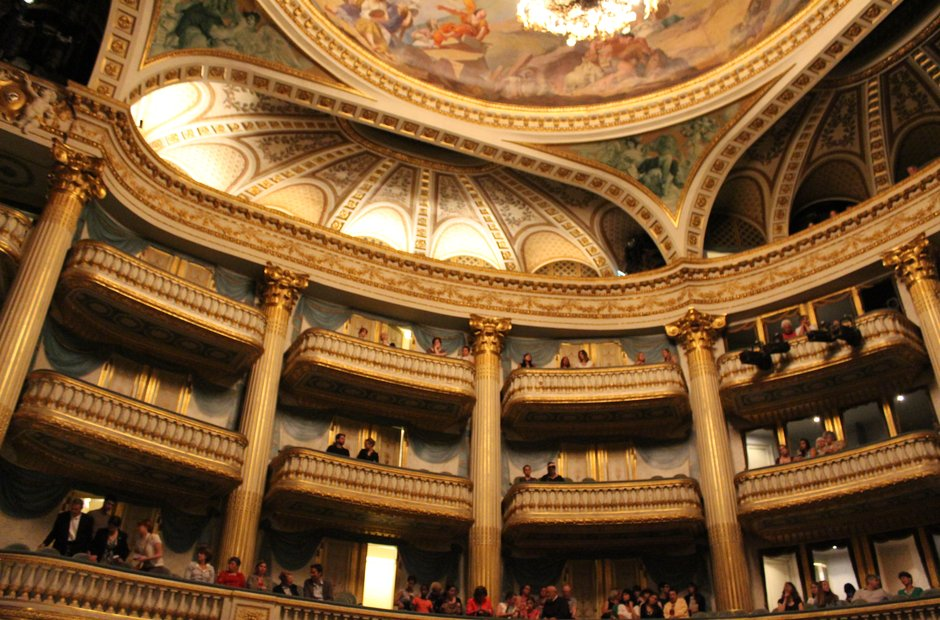 Grand theatre bordeaux france opera national