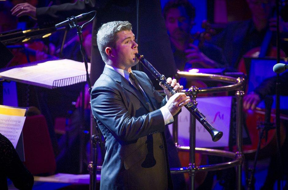 Julian Bliss at Classic FM Live
