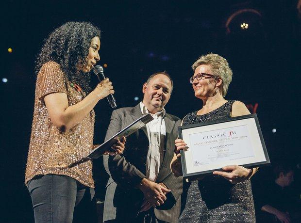 Music Teacher of the Year Award 2014