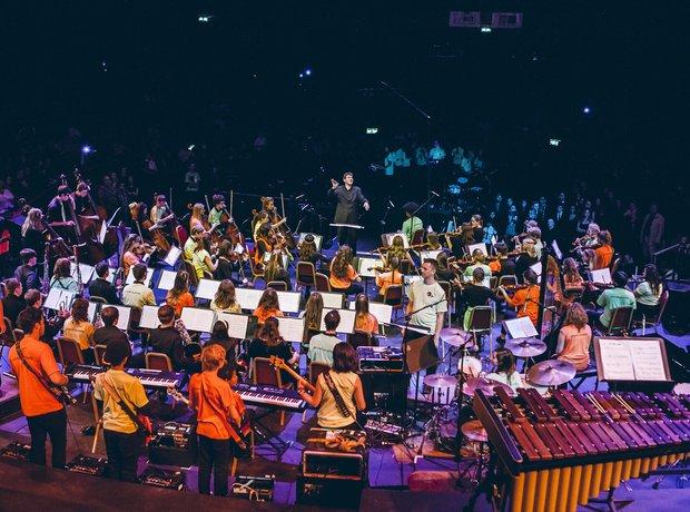 South Riverside Music Partnership Massed Ensemble