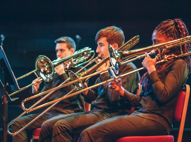 The Blue Coat School Brass Band 2014 School Proms