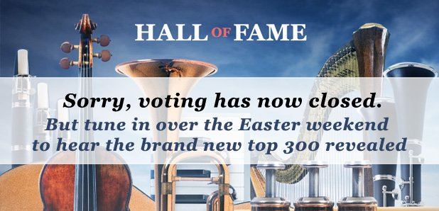 Hall of Fame voting closed