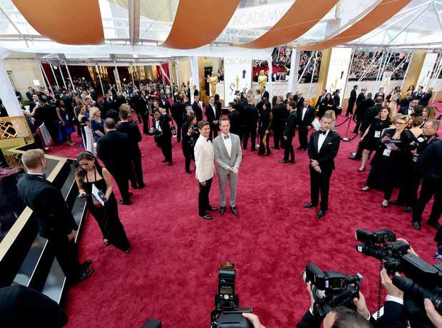 Host Neil Patrick Harris arrives at the Oscars