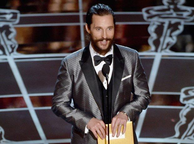 Matthew McConaughey at the Oscars 2015
