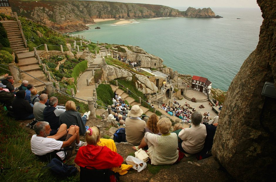 MInack Porthcurno Penzance Cornwall UK classical music venue