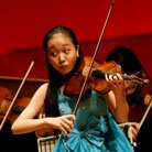 Jou Rose Hsien playing at the Menuhin Competition