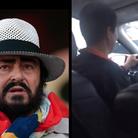 opera singing taxi driver