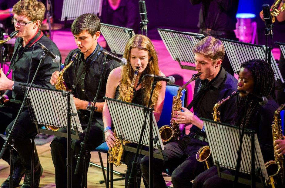 Greenhead College Big Band