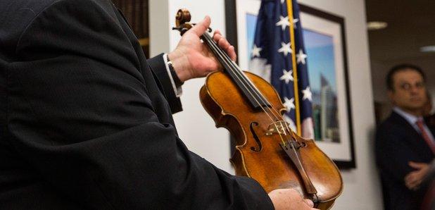 Roman Totenberg's Stradivarius