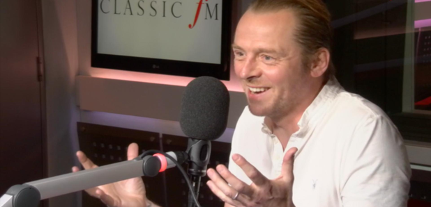 Simon Pegg on Charlotte Green's Culture Club