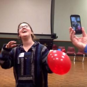Opera singer helium