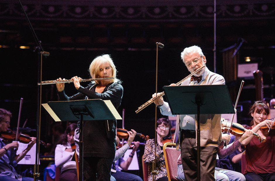Sir James Galway and Lady Jeane Galway Classic FM