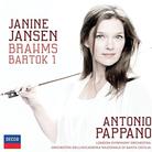 Janine Johnson Brahms Bartok