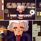Beethoven Google Doodle