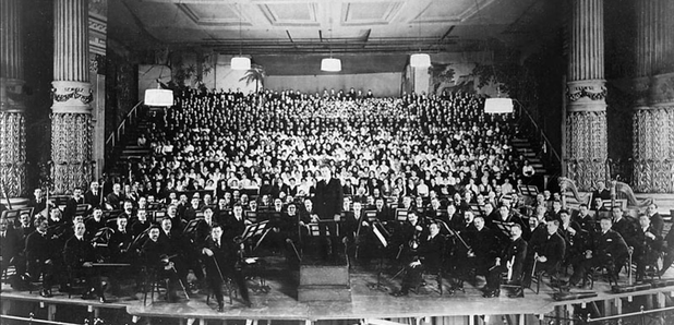 1916 Stokowski Philadelphia Orchestra Mahler