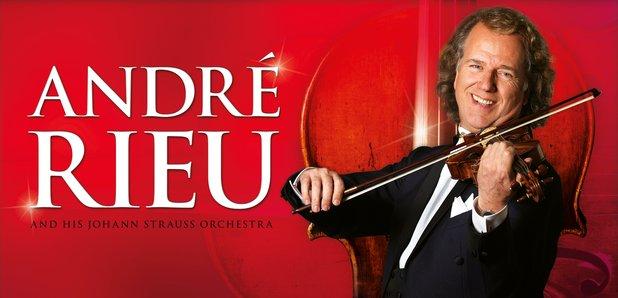 Andre Rieu 2016 UK tour