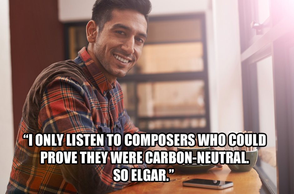 Classical music according to hipsters