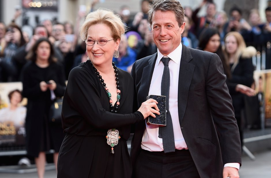 Florence Foster Jenkins premiere Hugh Grant Meryl Streep