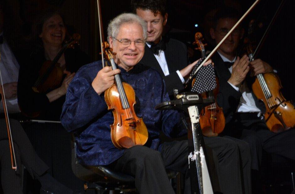 Carnegie Hall 125 birthday gala Itzhak Perlman