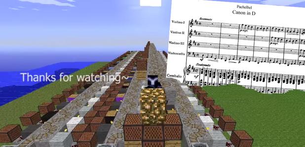 Minecraft Pachelbel's Canon