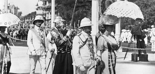 India George V Coronation 1911 emperor