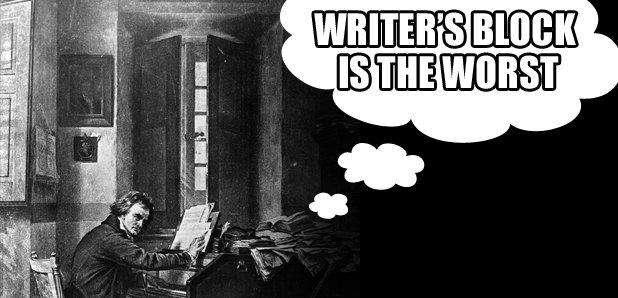 Writer's block beethoven asset