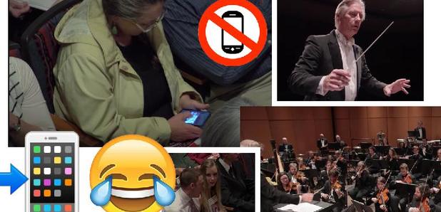 Orchestra phone prank