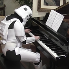 stormtrooper playing piano