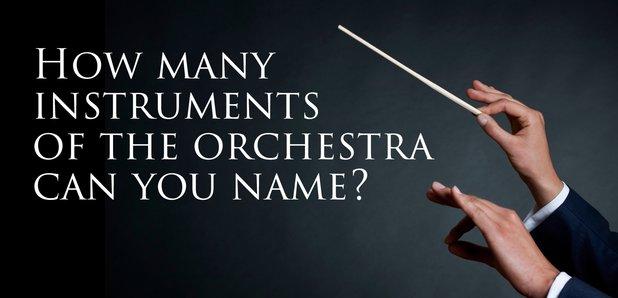 Instruments orchestra quiz