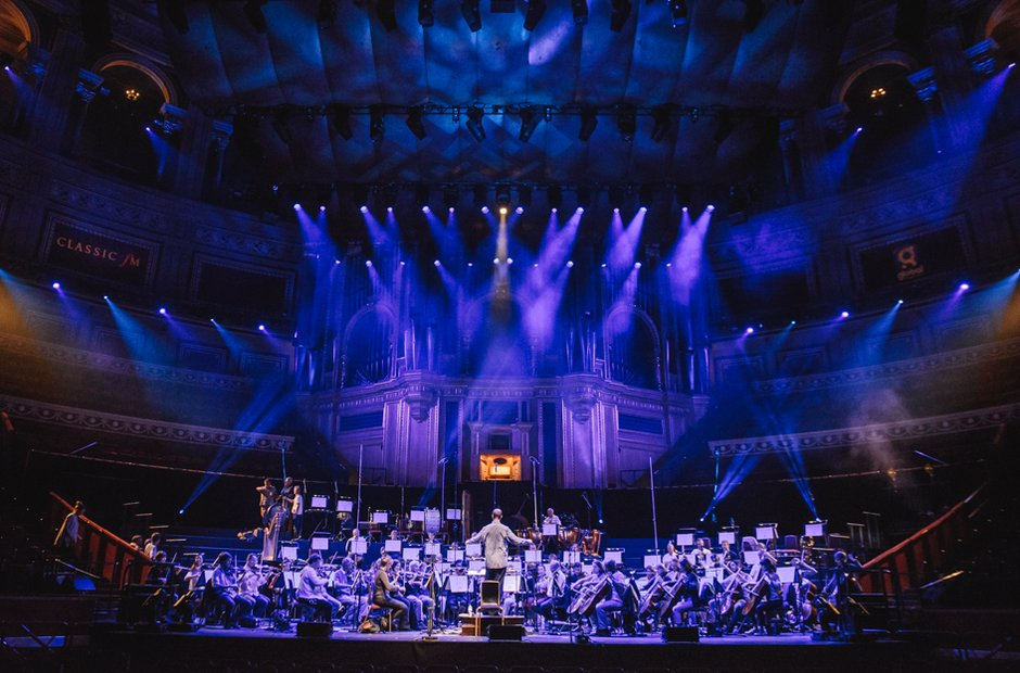 Classic FM Live Royal Albert Hall lighting Academy of St Martin in the Fields