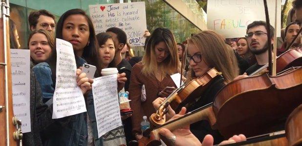 juilliard westboro baptist protest