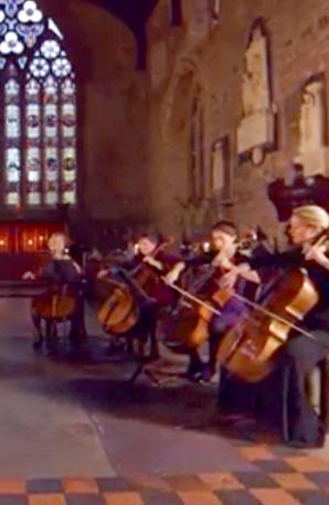 Cello ensemble Silent Night