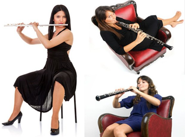 Woodwind stock images